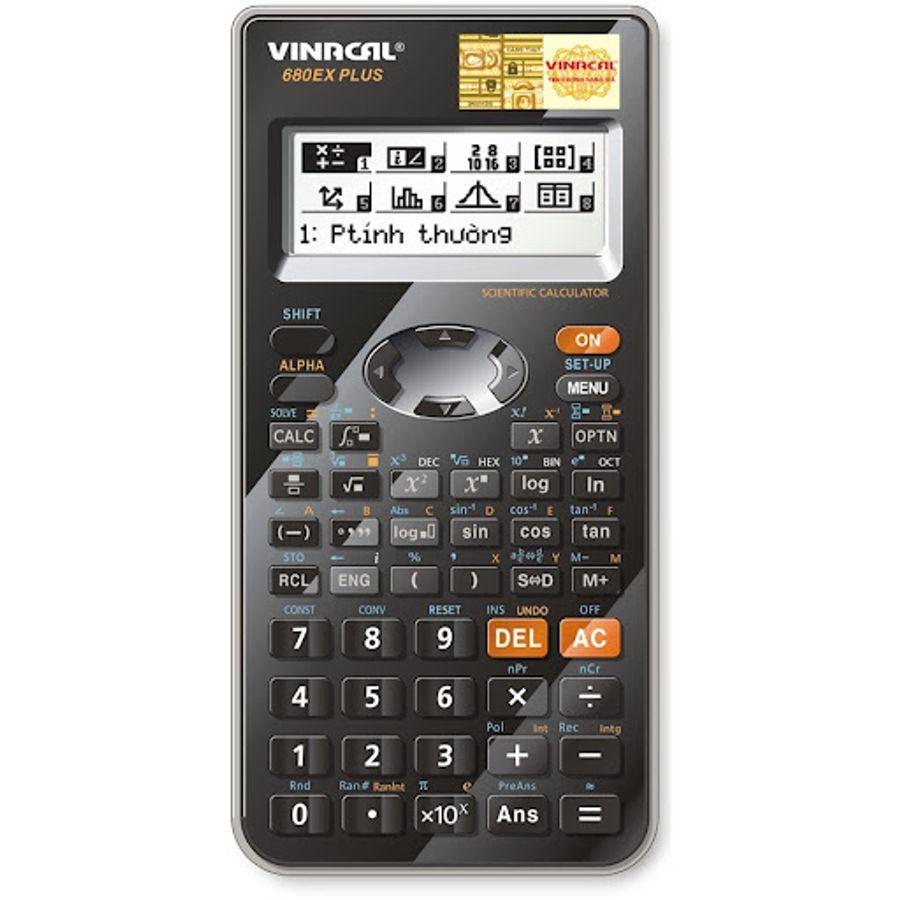 Máy Tính Vinacal 680EX Plus Chính Hãng