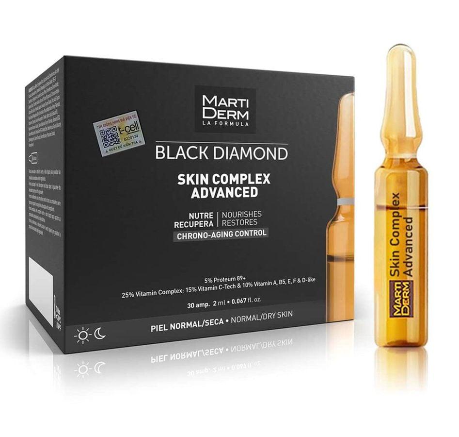 Ampoule Dưỡng Sáng, Trẻ Hóa Da MartiDerm Black Diamond Skin Complex Advanced