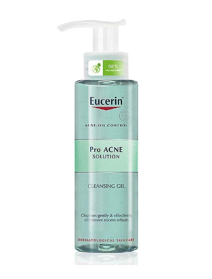 Gel Rửa Mặt Cho Da Dầu Mụn Eucerin Pro Acne Solution Cleansing