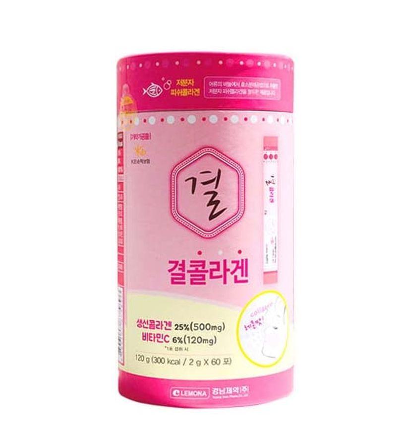 Gói Bột Uống Bổ Sung Collagen Lemona Hàn Quốc