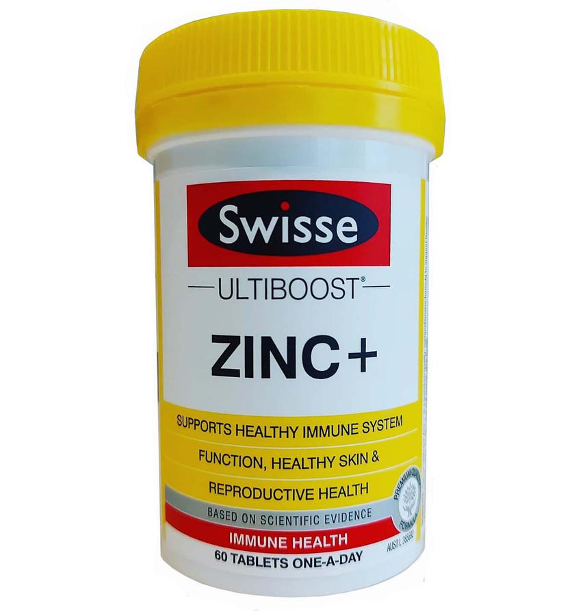 Viên Uống Bổ Sung Kẽm Swisse Zinc+ Của Úc
