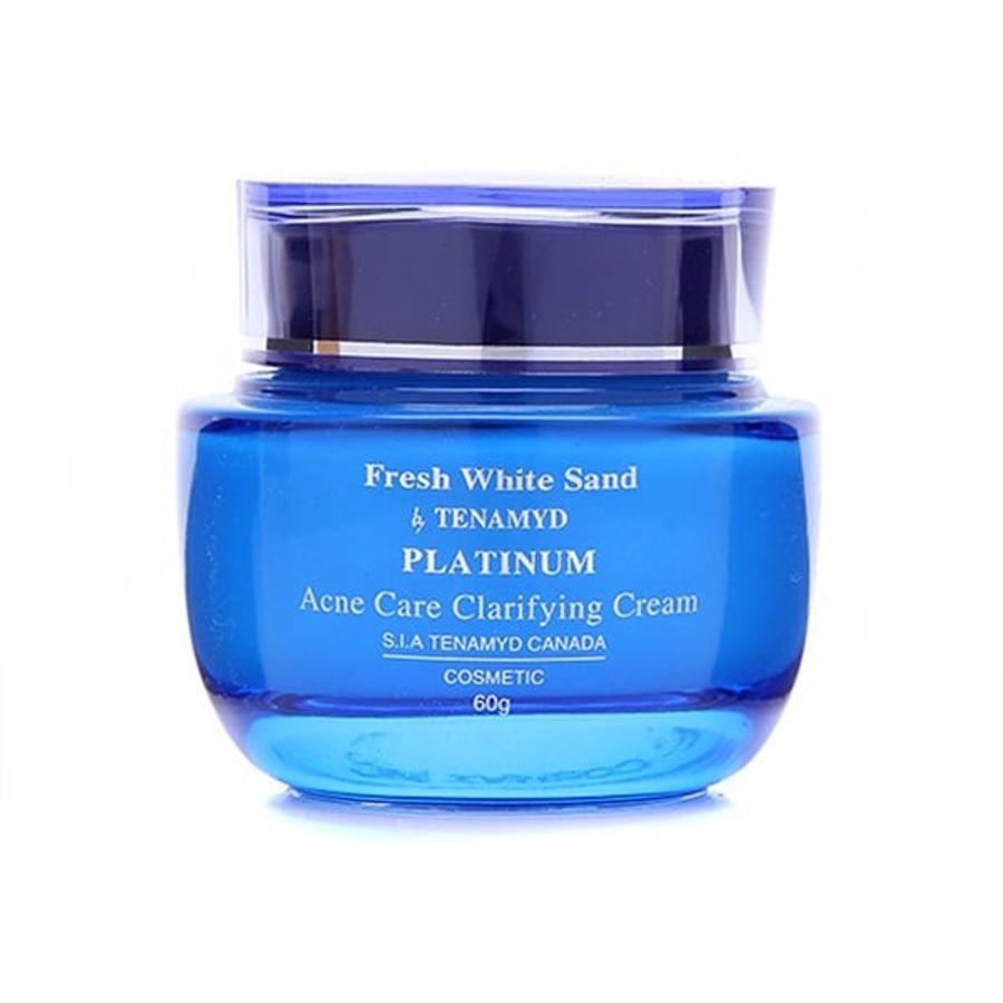Kem Dưỡng Tenamyd Fresh White Sand Platinum Acne Clarifying Cream 60g