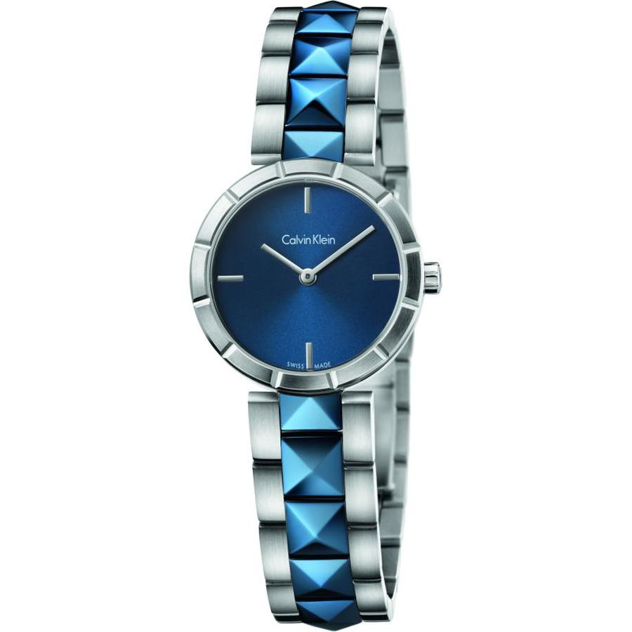 Đồng Hồ Nữ Calvin Klein Edge Blue K5T33T4N Chính Hãng