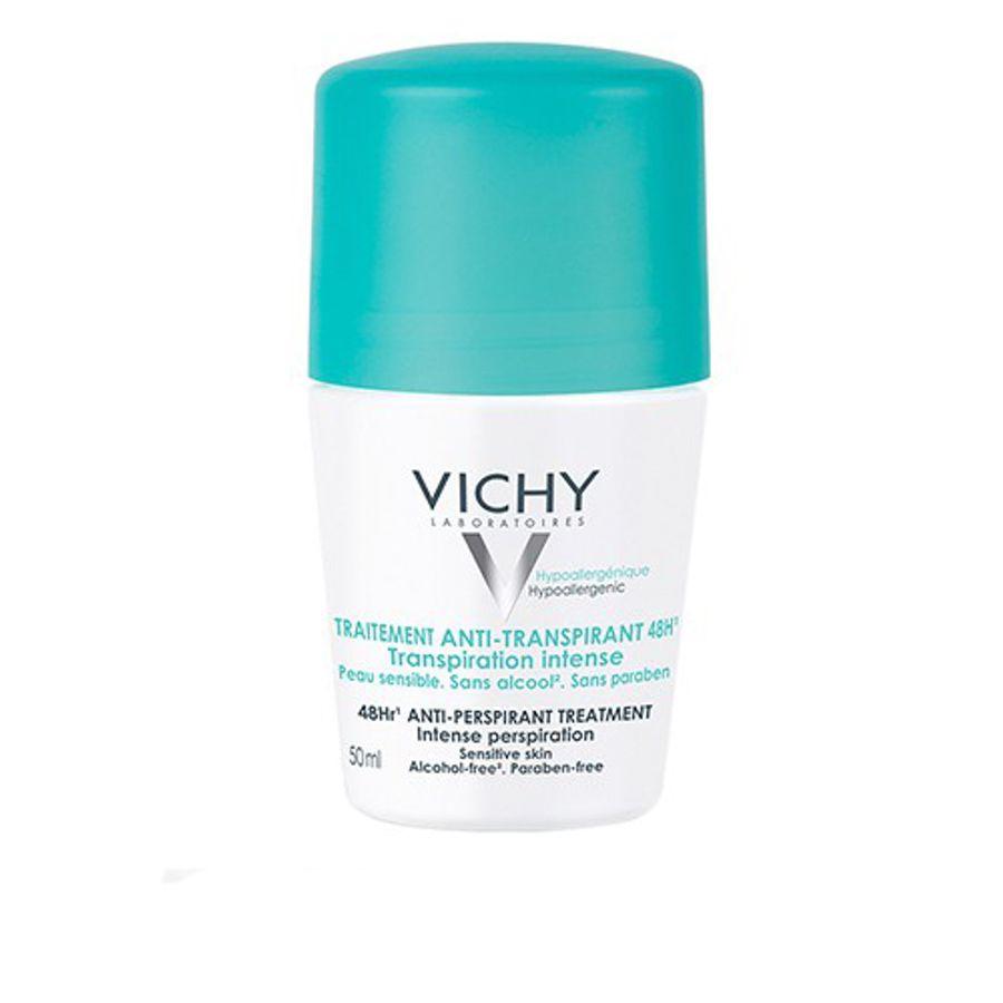 Lăn Khử Mùi Ngăn Mồ Hôi Giữ Khô Thoáng Suốt 48h Vichy 50ml