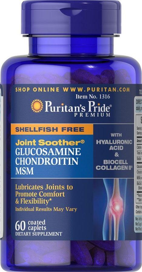 Viên Uống Hỗ Trợ Bổ Xương Khớp Puritan Glucosamine 5 Trong 1