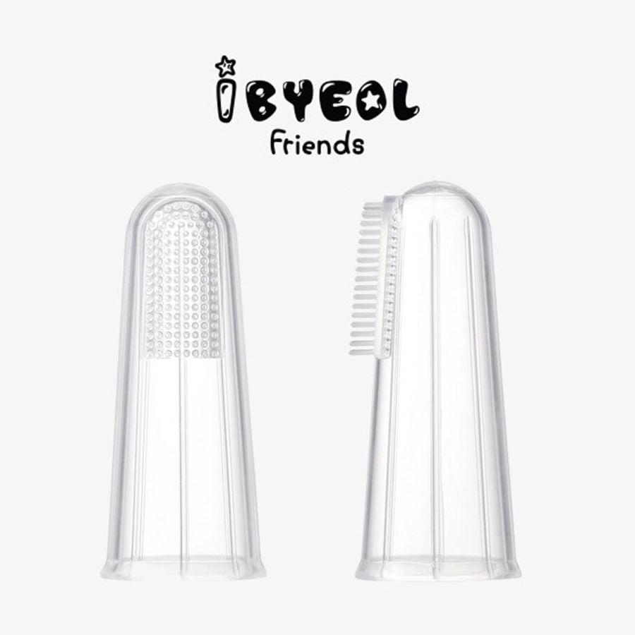 Bàn Chải Rơ Lưỡi Xỏ Ngón Ibyeol Friends JuJu Hàn Quốc