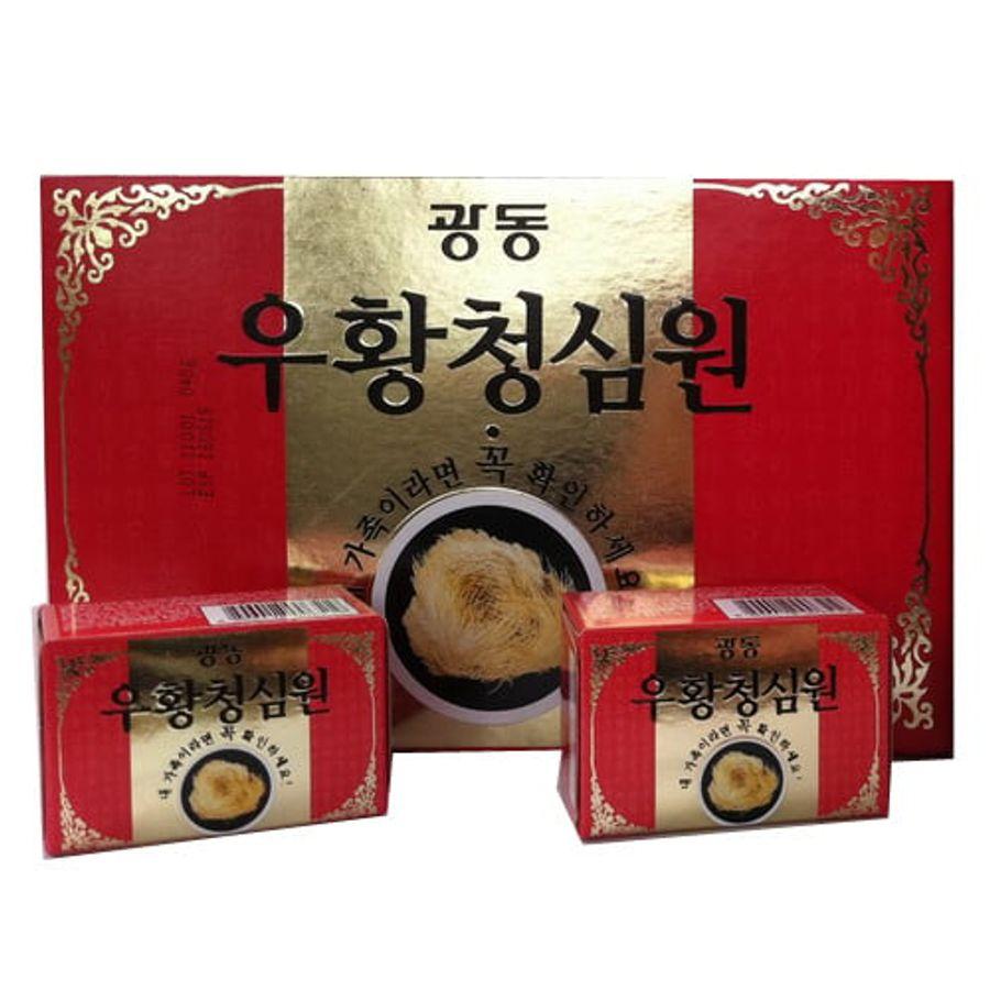 An Cung Ngưu Hoàng Hoàn Kwangdong Xịn Nội Địa Hàn Quốc Tổ Kén Giữa
