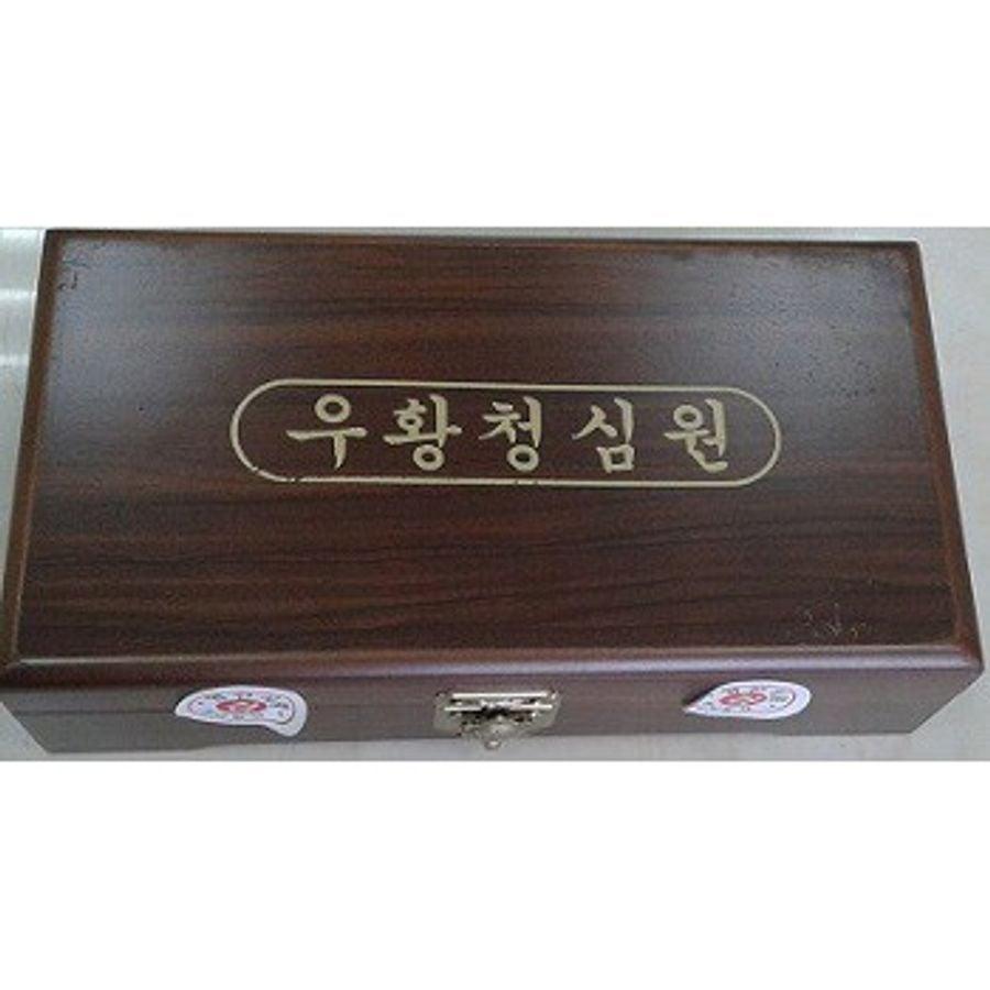 An Cung Ngưu Hoàng Hoàn Hàn Quốc Hộp Gỗ Nâu, Hộp 10 Viên