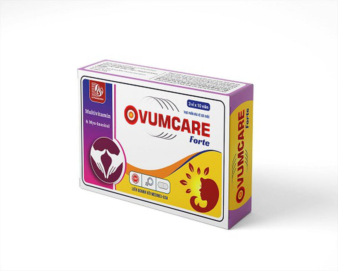 Viên Uống Ovumcare Forte Hỗ Trơ Tăng Khả Năng Thụ Thai