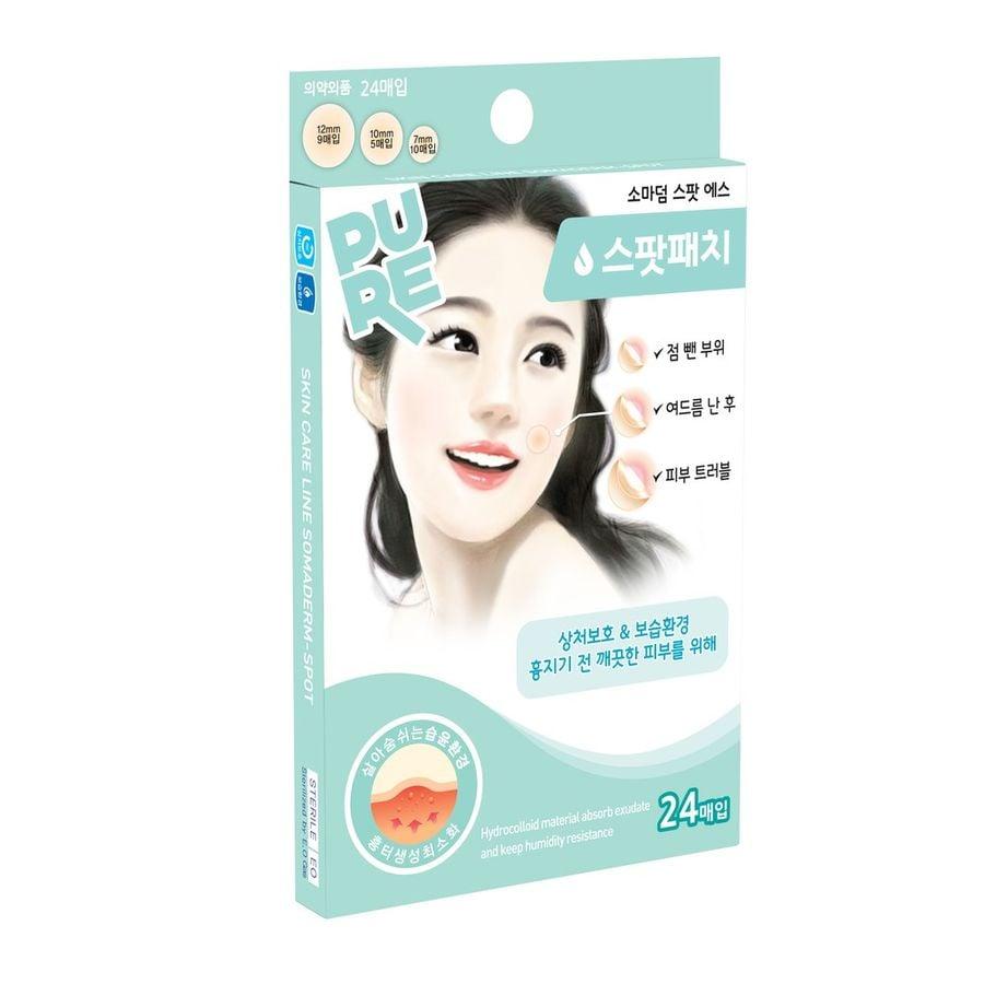 Miếng Dán Mụn Hàn Quốc Somaderm Spot 24 3 Size  24 Miếng