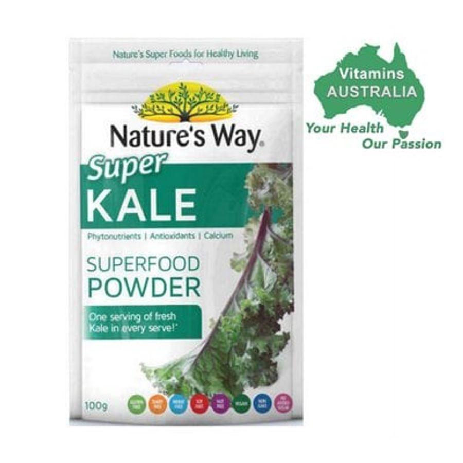 Bột Cải Xoăn Kale Superfood Power Nature's Way