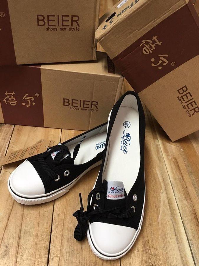 Giày Lười Nữ Beier Trẻ Trung, Thời Trang