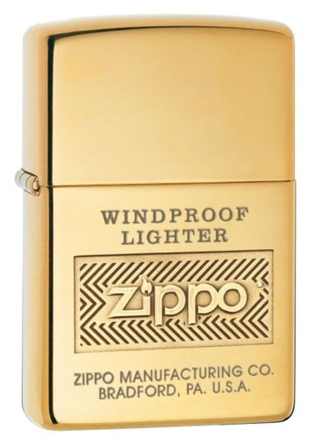 Bật Lửa Zippo Windproof High Polish Brass 28145