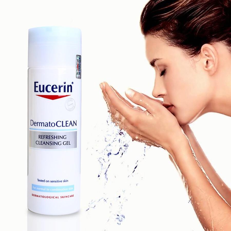 Sữa Rửa Mặt Eucerin Dạng Gel Cho Da Nhạy Cảm