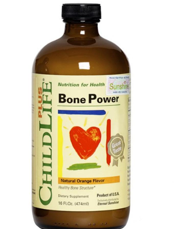 Childlife Bone Power - Canxi Sữa Tăng Trưởng Chiều Cao Cho Bé