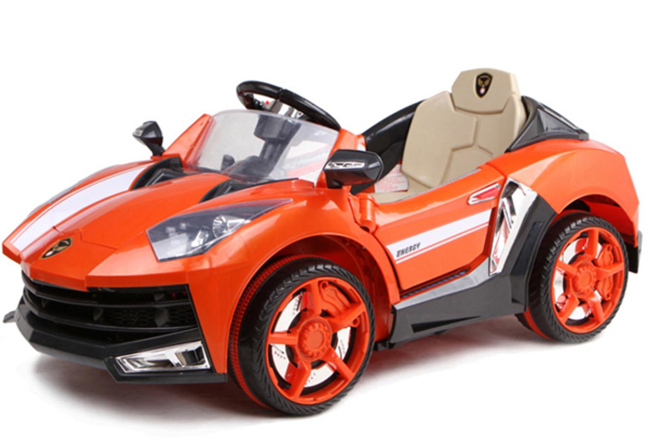 Ô Tô Điện Trẻ Em 1 Chỗ Ngồi Lamborghini 8188BC (2 Động Cơ, Bánh Nhựa)