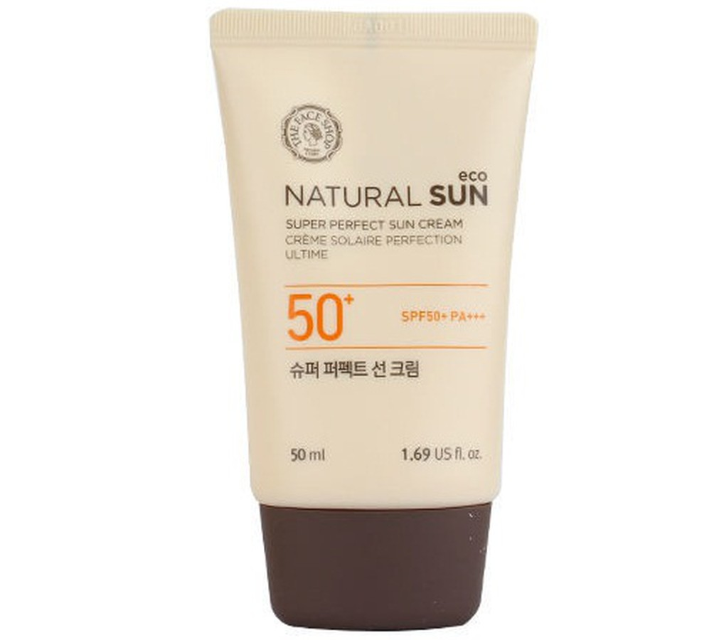Kem Chống Nắng The Face Shop Natural Sun Eco SPF50+