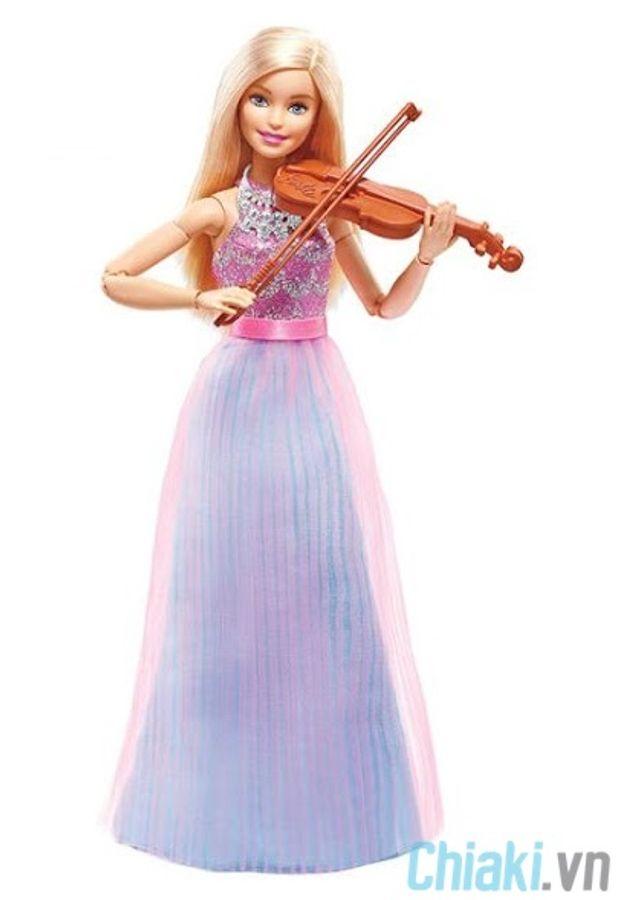 Búp Bê Barbie Có Khớp Violong DLG94
