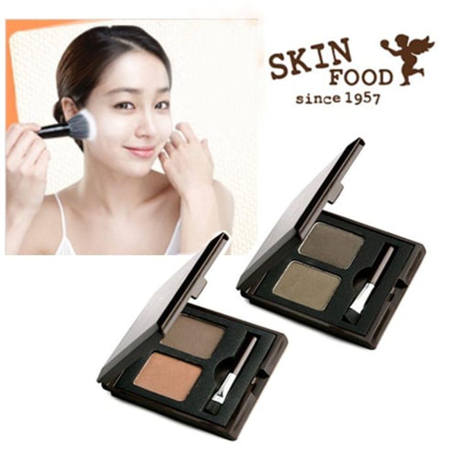 Bột Tán Mày Skinfood Choco Eyebrow Powder Cake