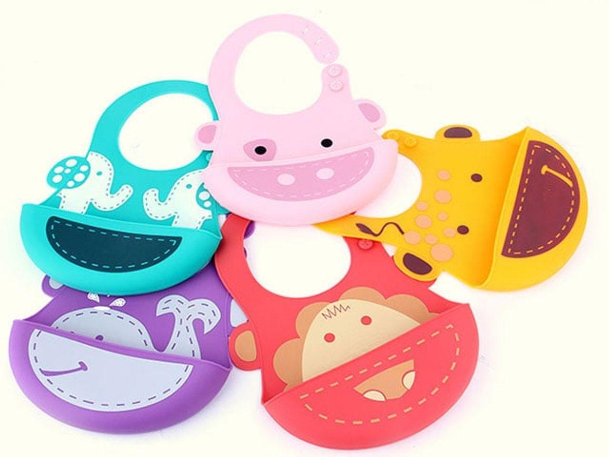 Yếm Ăn Dặm Silicon Taf Toys Cho Bé