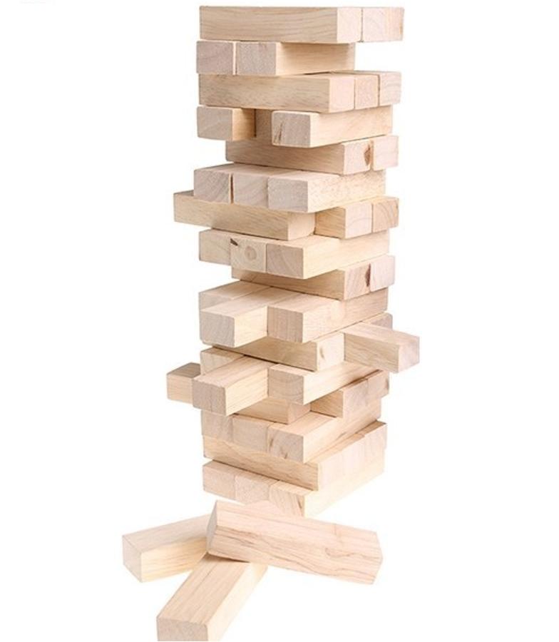 Đồ Chơi Rút Gỗ 48 Thanh Forkids Funny Tower