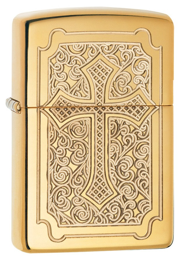 Bật Lửa Zippo Windproof 29436 High Polish Brass