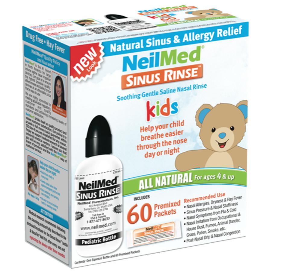 Bình Rửa Mũi NeilMed Sinus Rinse Kid Cho Bé