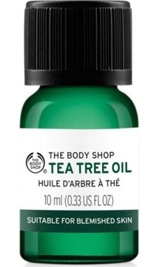 Tea Tree Oil The Body Shop – Tinh Chất Trà Hữu Cơ Cho Da Mụn