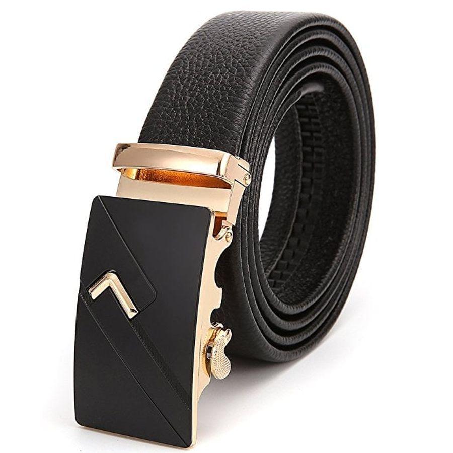 Thắt Lưng Nam ThirdStreet Genuine Leather Ratchet