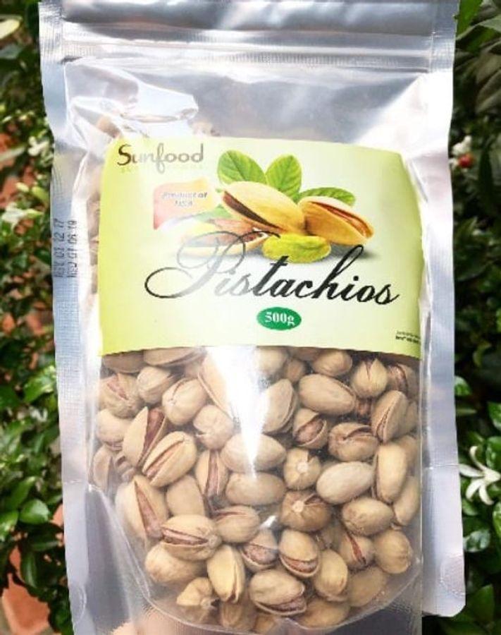 Hạt Dẻ Cười Mỹ Sunfood Pistachios 500g