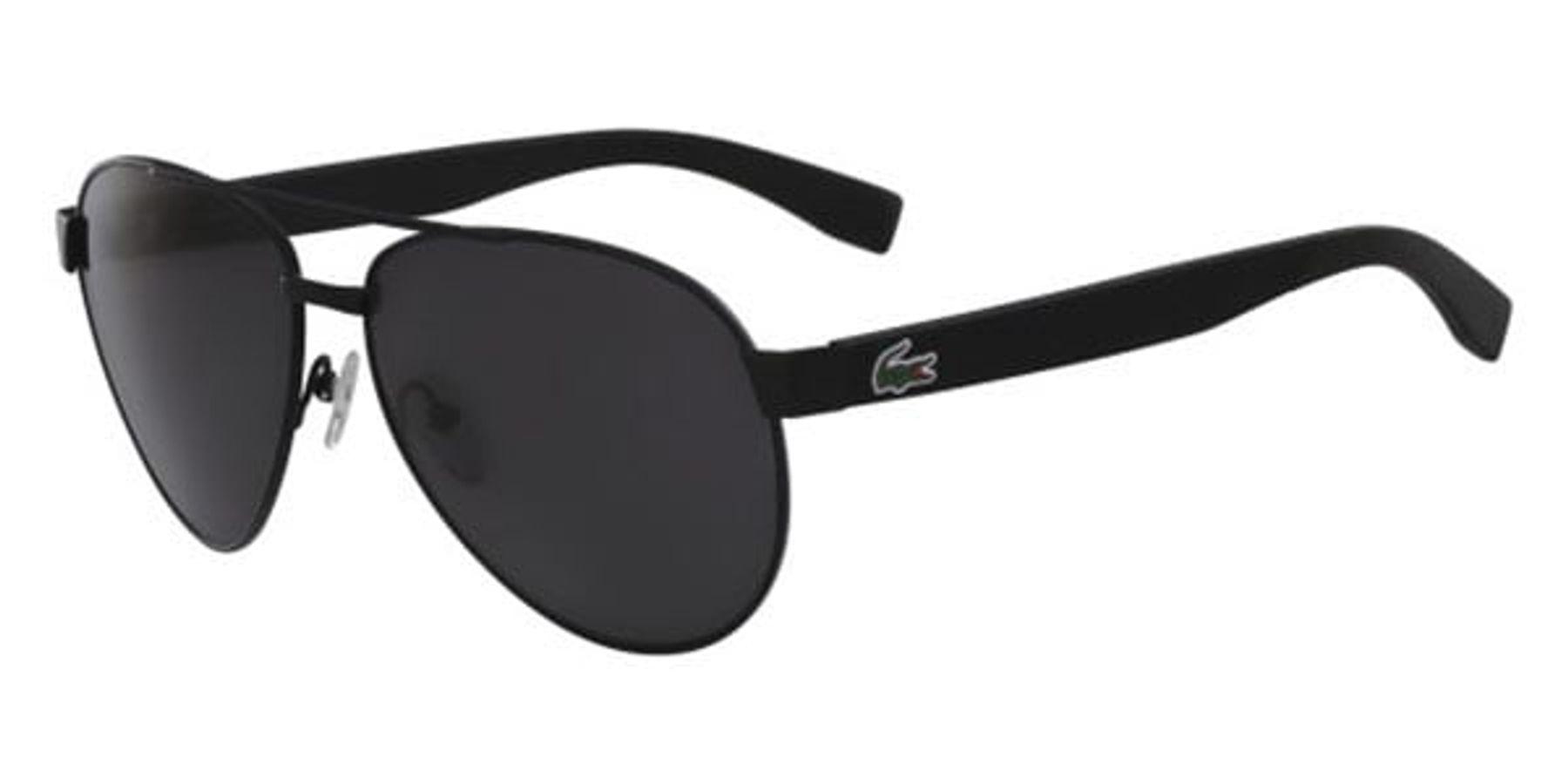 Mắt Kính Lacoste L185S 001 Black Matte Sunglasses