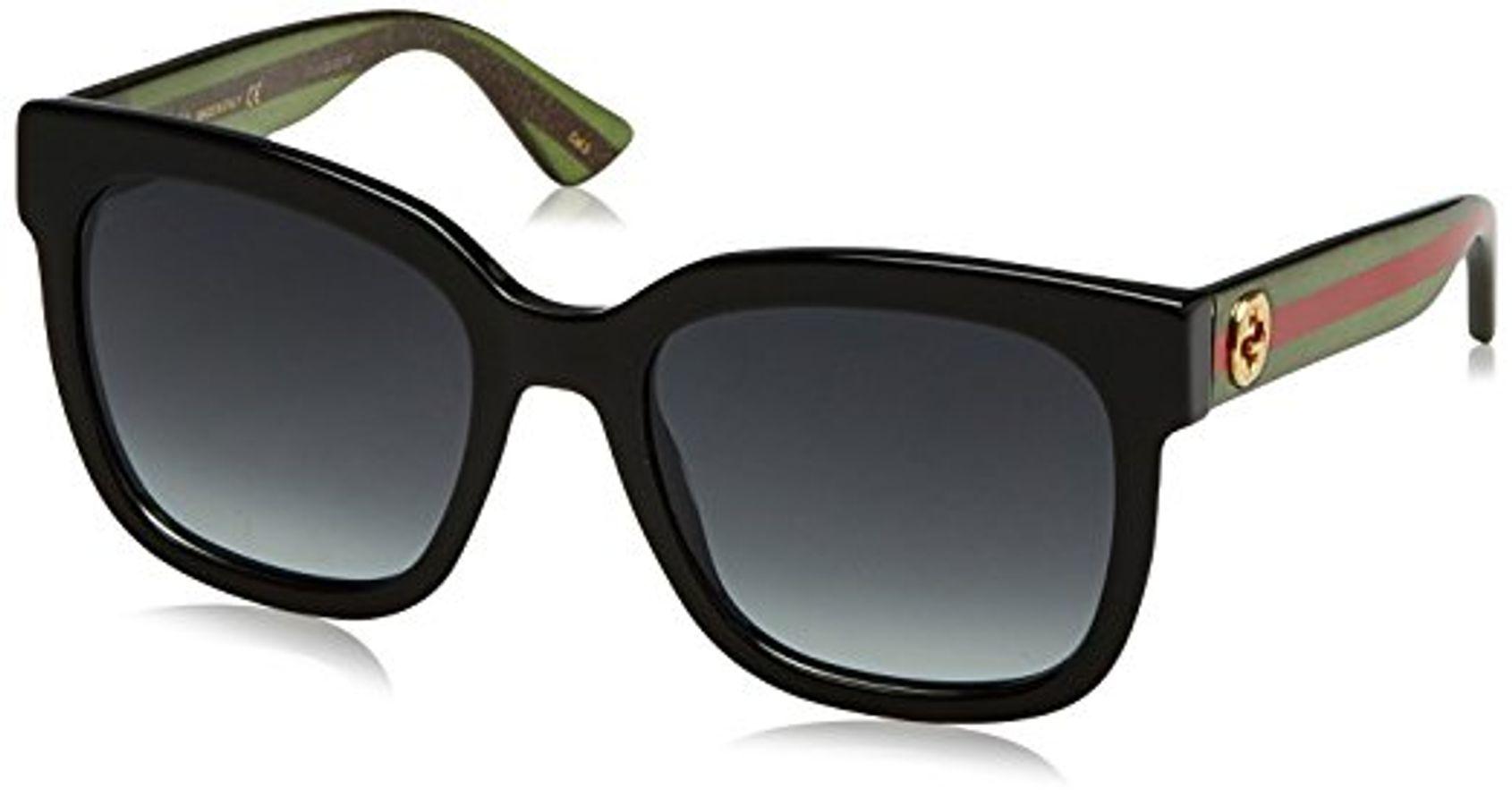 Mắt Kính Gucci 0034S 002 Black Square 54mm