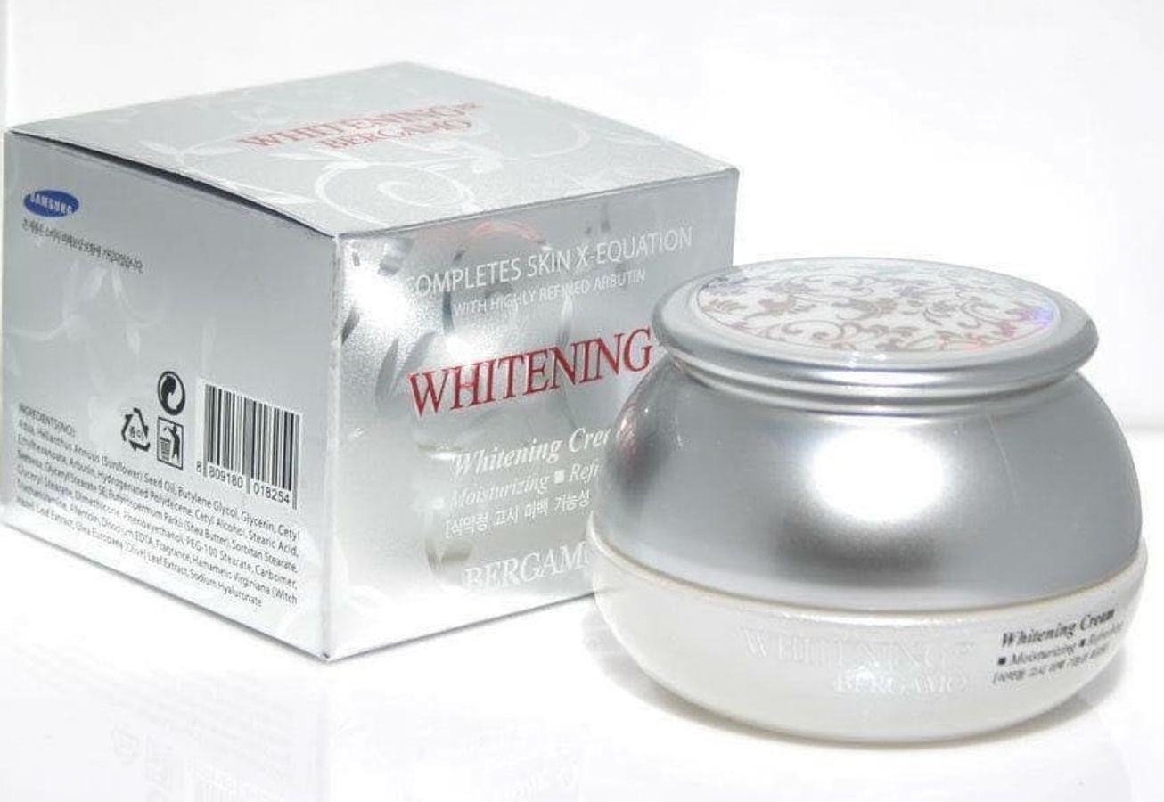 Kem Dưỡng Trắng Da Bergamo Whitening EX Cream