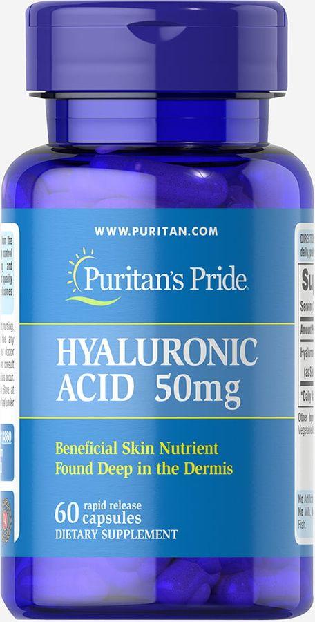Viên Uống Puritan's Pride Hyaluronic Acid 50 Mg
