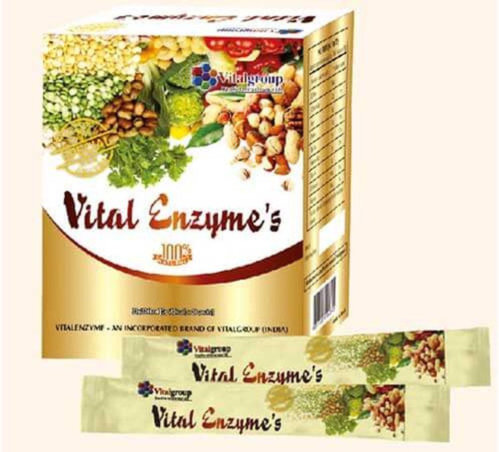 Viên Uống Thanh Lọc Cơ Thể Enzyme's Vital