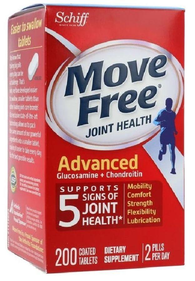 Viên Uống Schiff Move Free Advanced Triple Strength