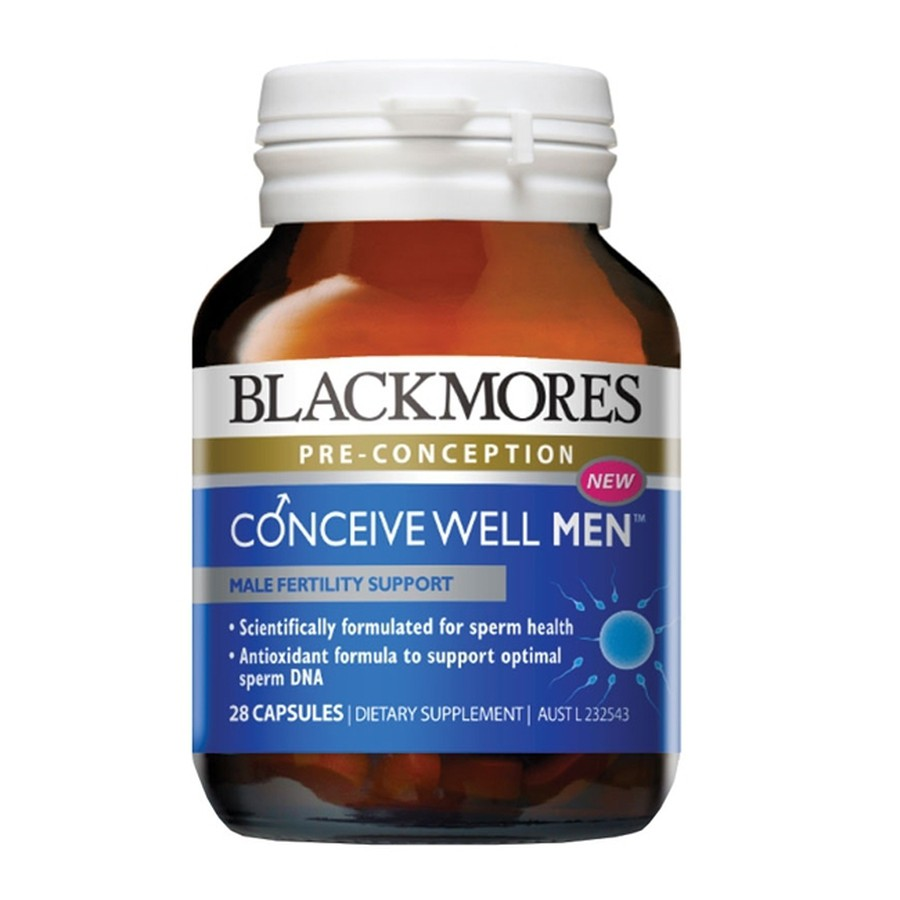 Blackmores Conceive Well Men Hỗ Trợ Sinh Lý Nam