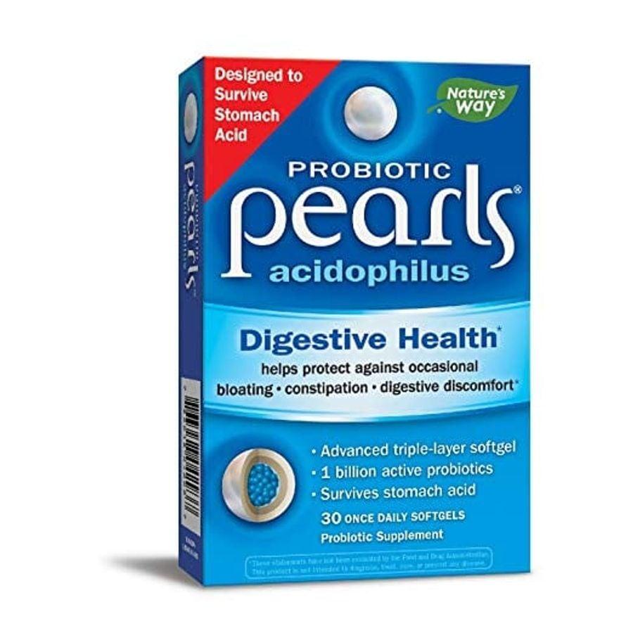 Viên Bổ Sung Lợi Khuẩn Pearls Acidophilus Nature's Way