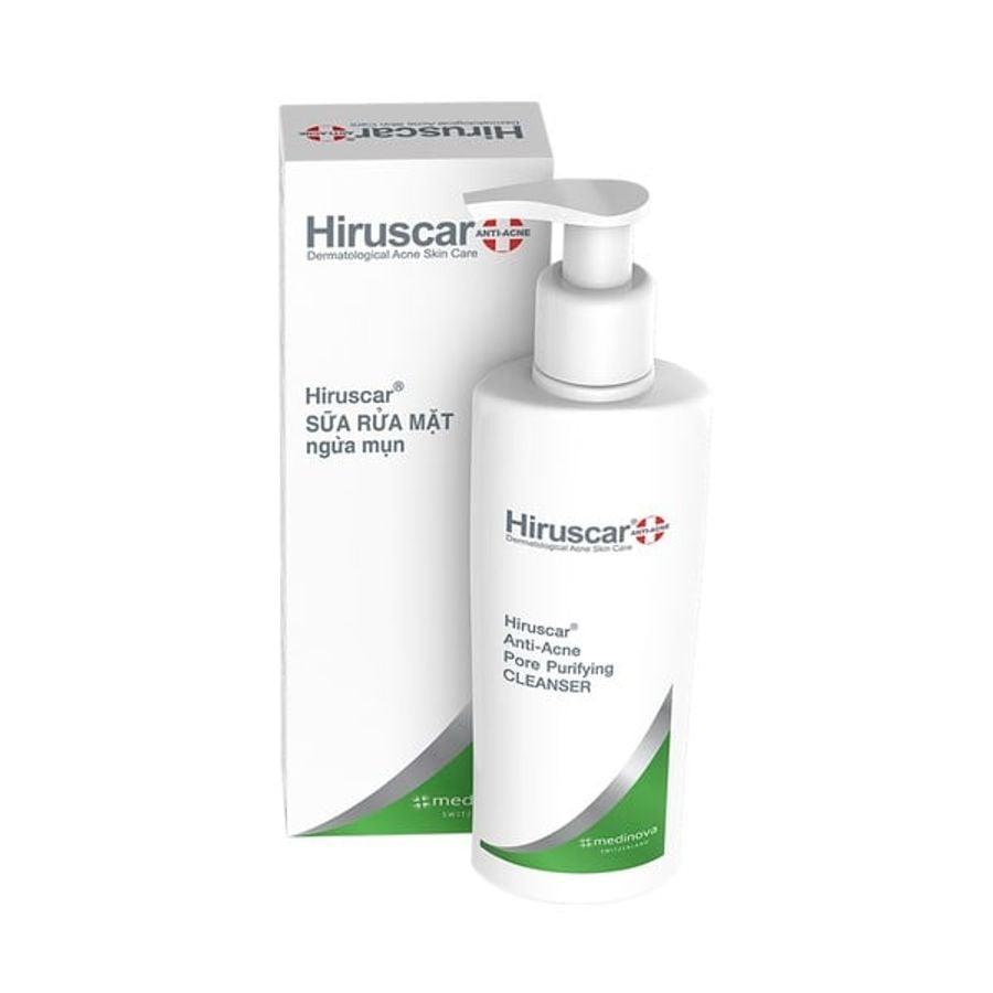 Sữa Rửa Mặt Ngăn Ngừa Mụn Hiruscar Anti-Acne Pore Purifying