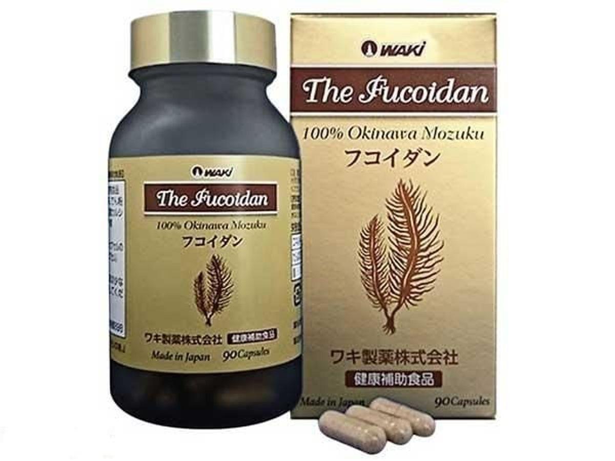 Viên Uống The Fucoidan Tảo Nâu Okinawa Nhật Bản Waki