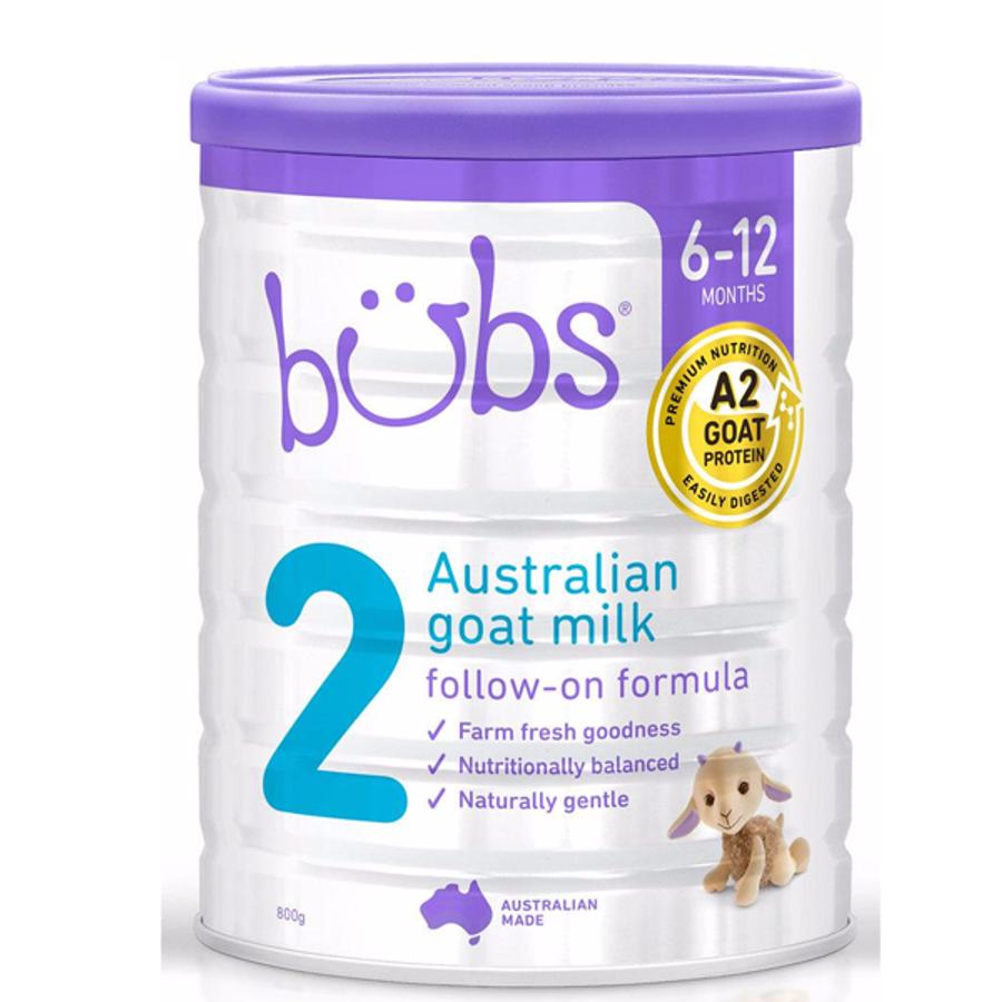 Sữa Dê Bubs Organic Goat Milk Số 2 Chính Hãng Của Úc