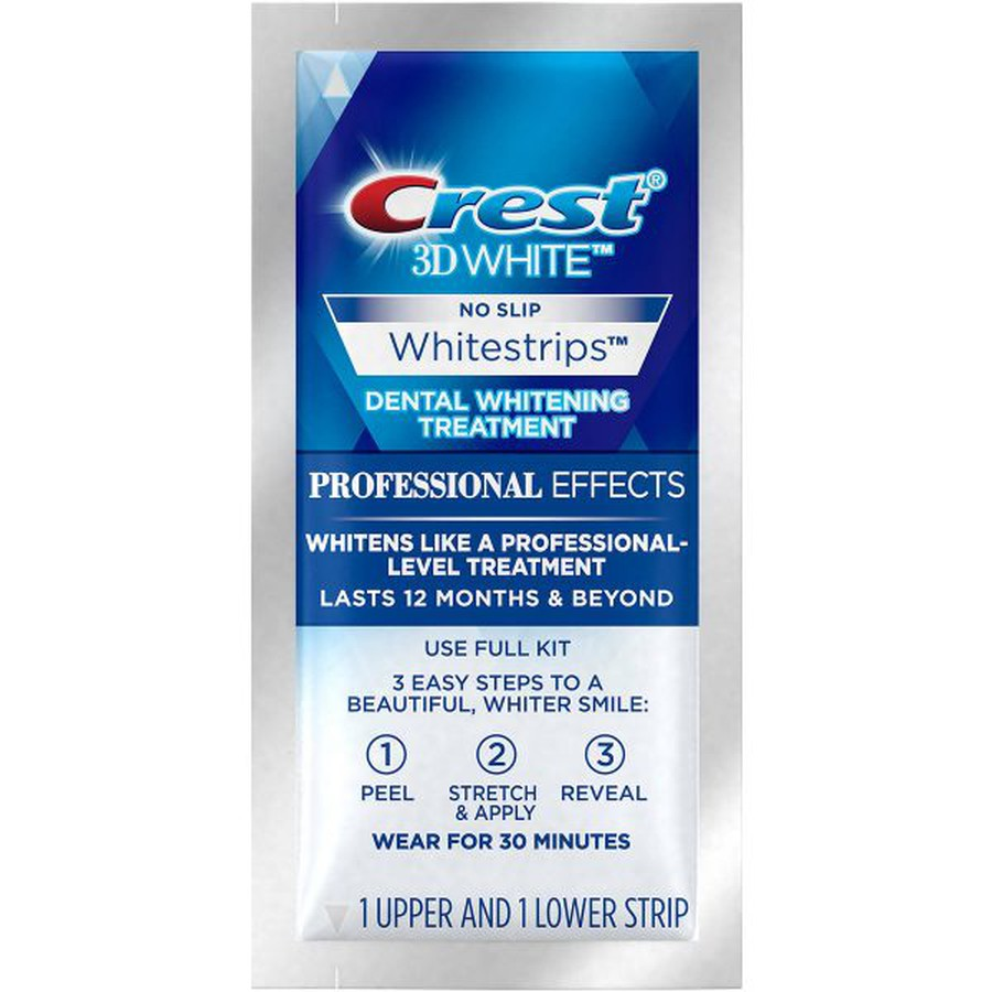 Miếng Dán Trắng Răng Crest 3D White Professional Effects 42 Miếng
