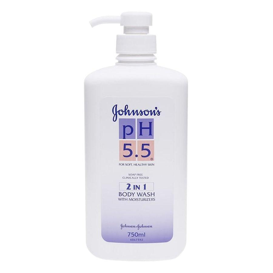 Sữa Tắm Johnson's 2in1 PH 5.5 Chính Hãng