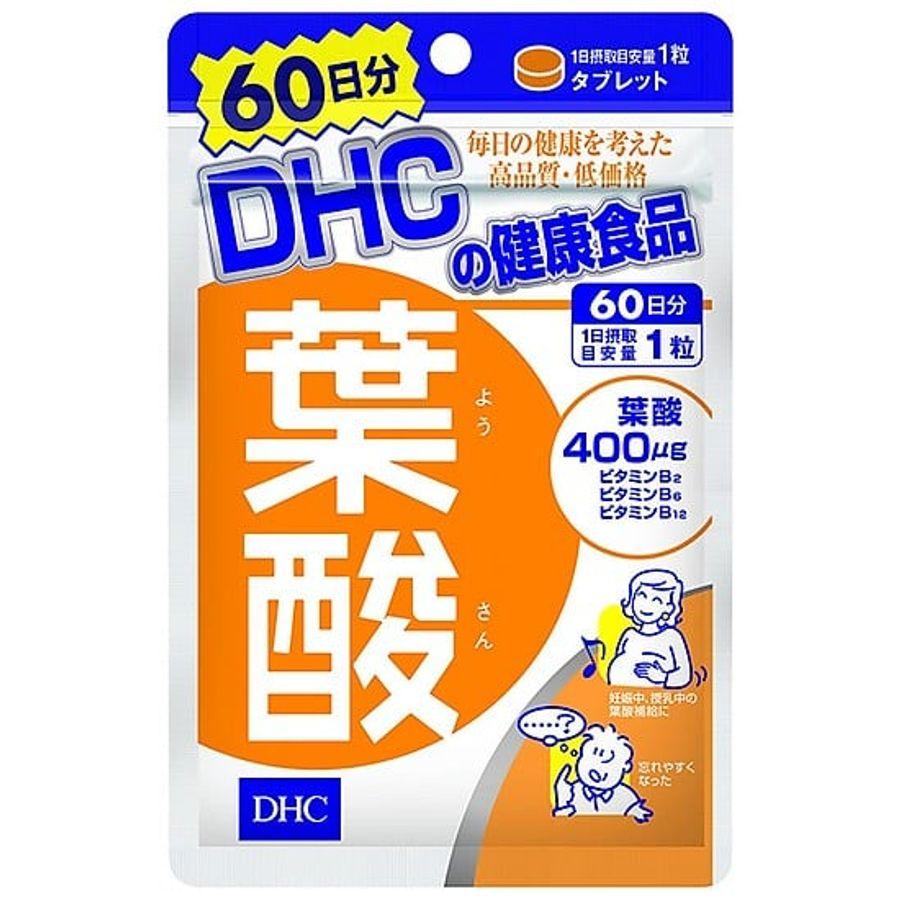 Viên Uống Bổ Sung Axit Folic DHC Cho Bà Bầu