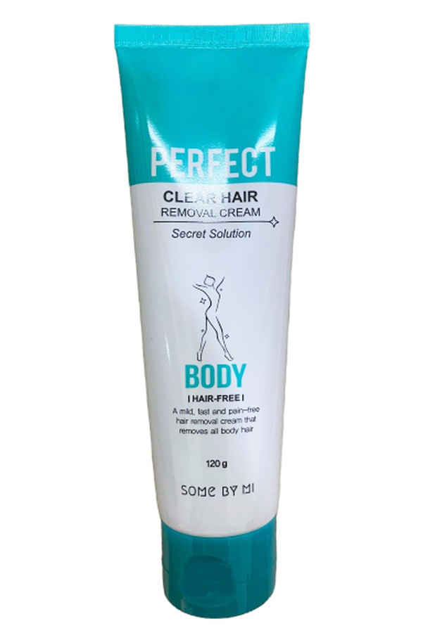 Kem Hỗ Trợ Tẩy Lông Some By Mi Perfect Clear Hair Removal Cream