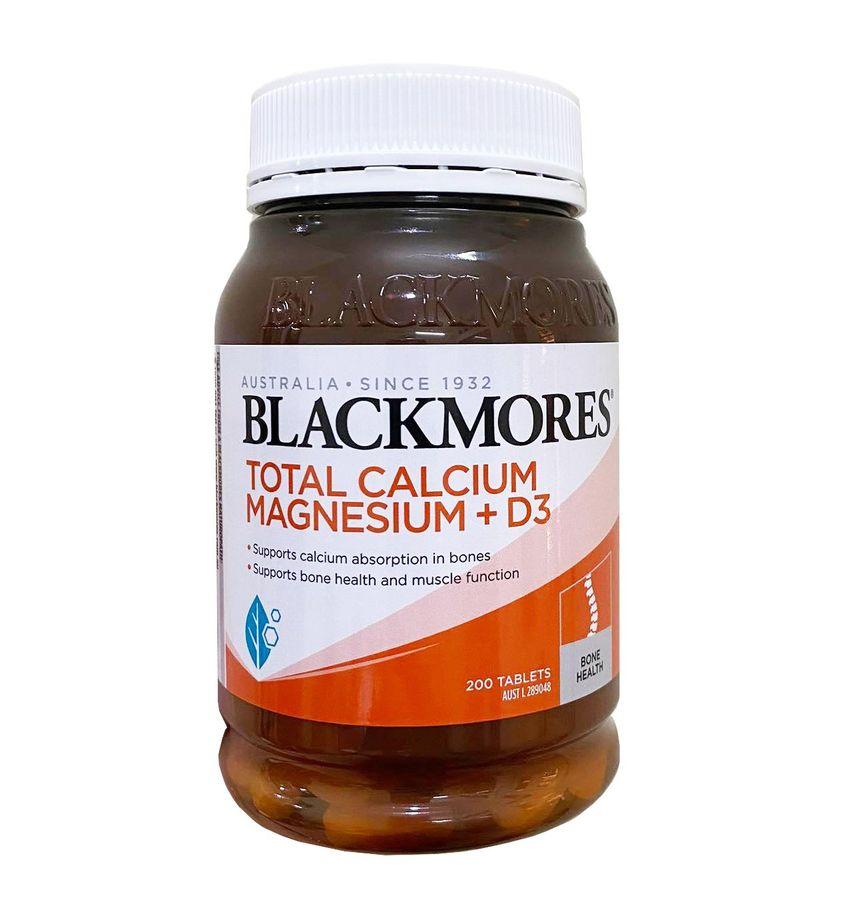 Viên Uống Hỗ Trợ Bổ Sung Total Calcium & Magnesium + D3 Blackmores