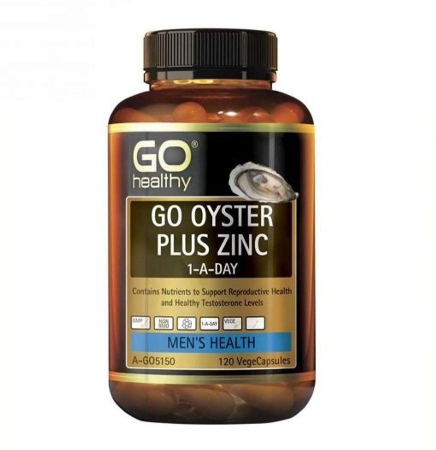 Tinh Chất Hàu Go Healthy Go Oyster Plus Zinc Của Úc