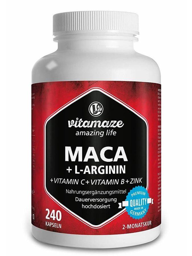 Viên Uống Hỗ Trợ Sinh Lý Vitamaze Maca + L Arginin Của Đức