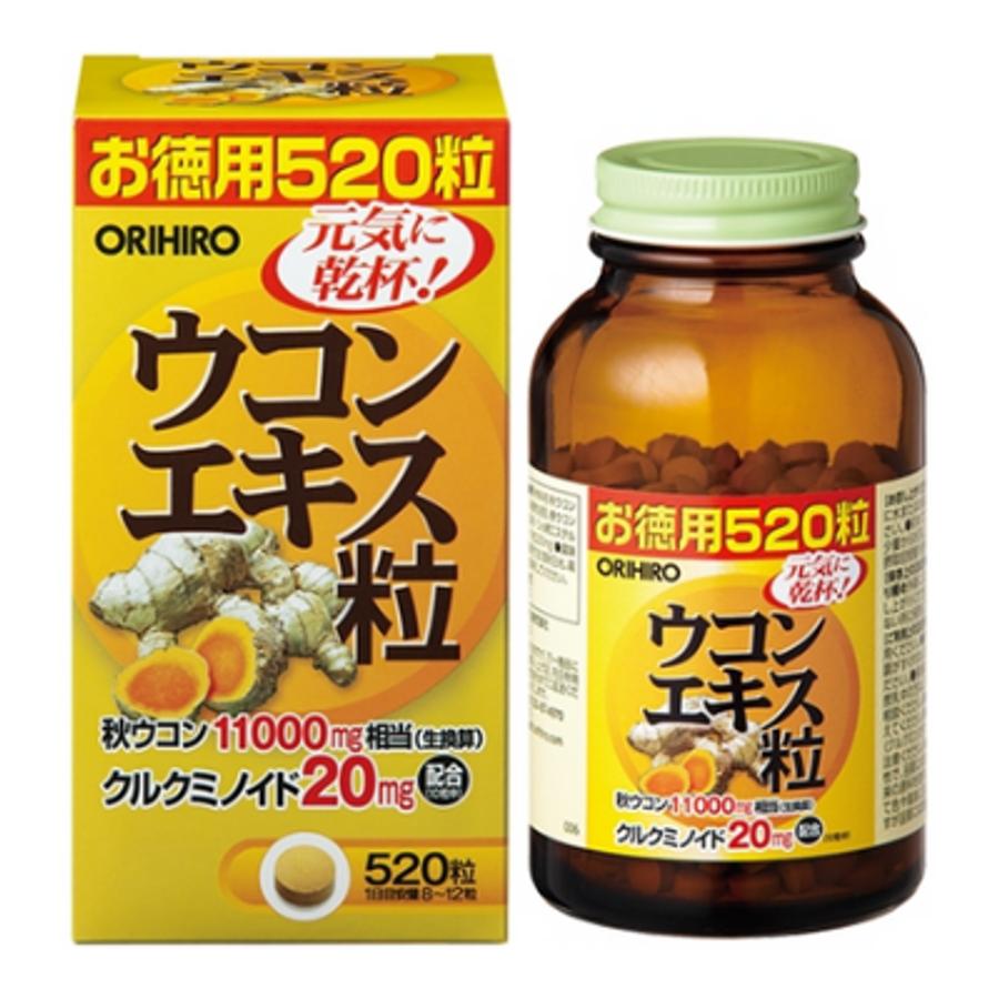 Viên Uống Tinh Chất Nghệ Mùa Thu Orihiro Nhật Bản