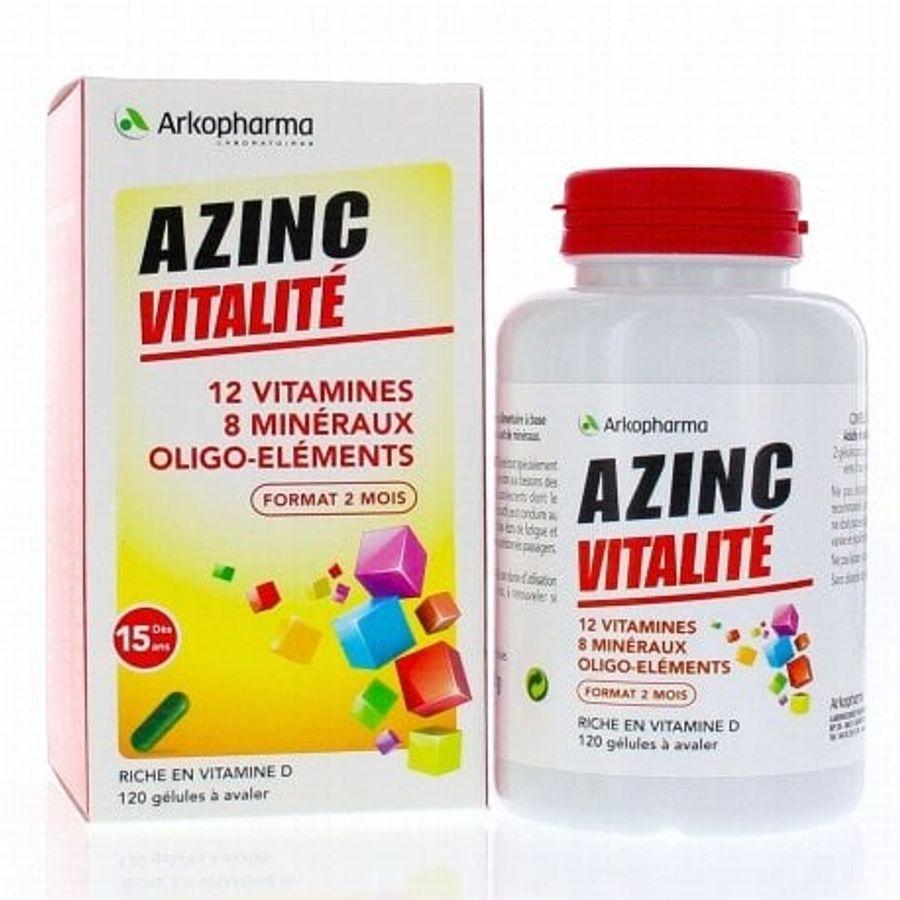 Viên Bố Sung Vitamin Tổng Hợp Arkopharma Azinc Vitalité Của Pháp